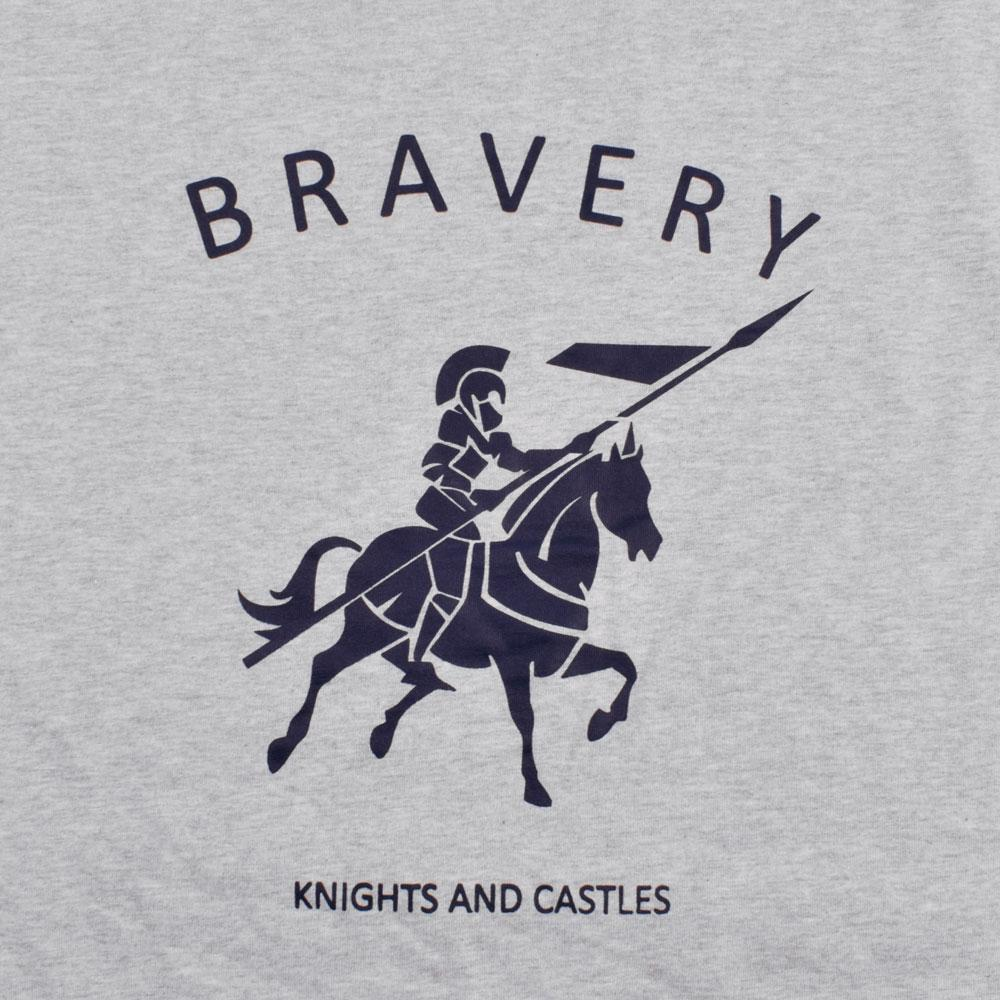 LE Bravery Knights V Neck Tee Shirt Men's Tee Shirt Image