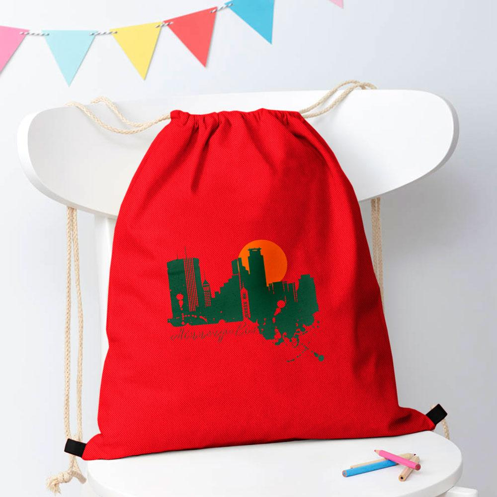 Polo Republica Minneqpolis Drawstring Bag Drawstring Bag Polo Republica Red Bottle Green