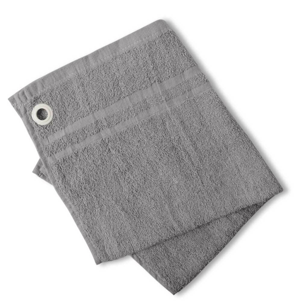 HNC Embellish Kitchen Towel with Eyelet Towel Haroon Cp Dark Grey