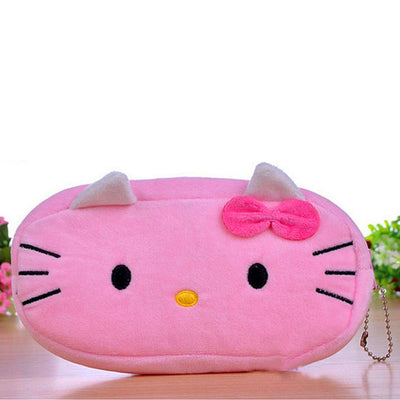 Cartoon Character Plush Zipper Coin Bag Stationary & General Accessories Sunshine China D6