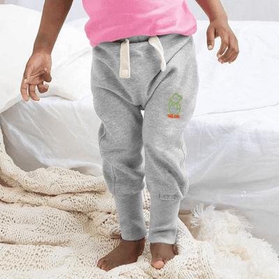 MTS Kid's Mr Jumbo Embro Sweat Pants Boy's Sweat Pants Image Heather Grey 12-18 Months