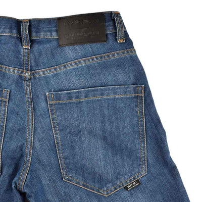DNM & Co Rinse Wash 3/4 Long Denim Shorts Men's Shorts SRK