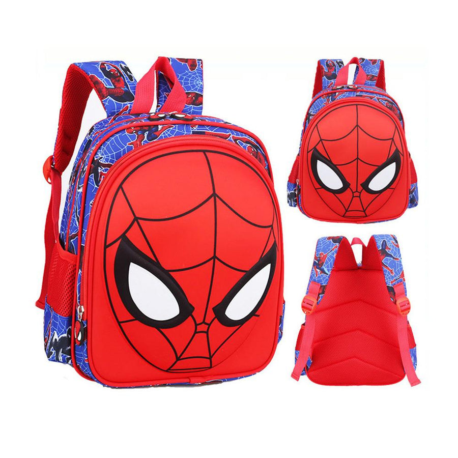 Spider-Man Character Children's School Large Size Backpack