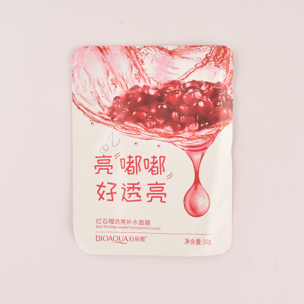 Bioaqua Moisturizing Face Mask Health & Beauty Sunshine China Red Pomegranate