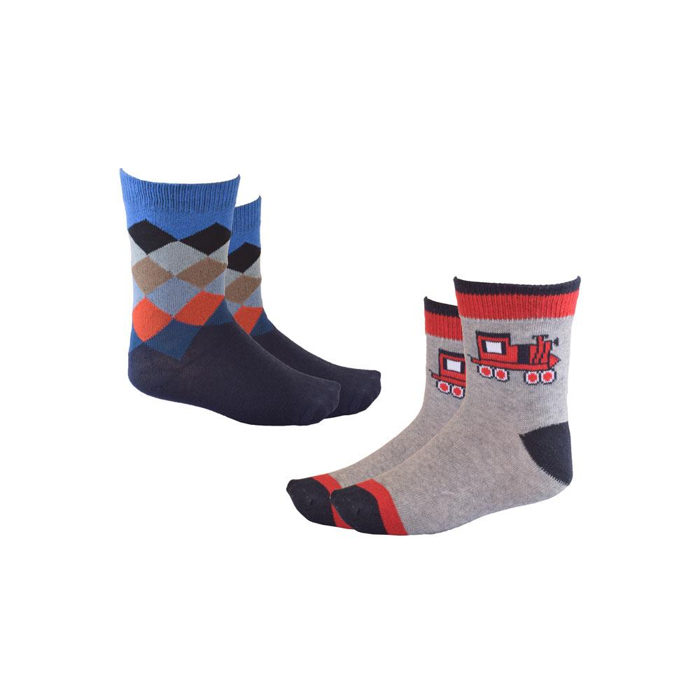 Kid's Enderby Set of Two Pairs Crew Socks Socks RKI