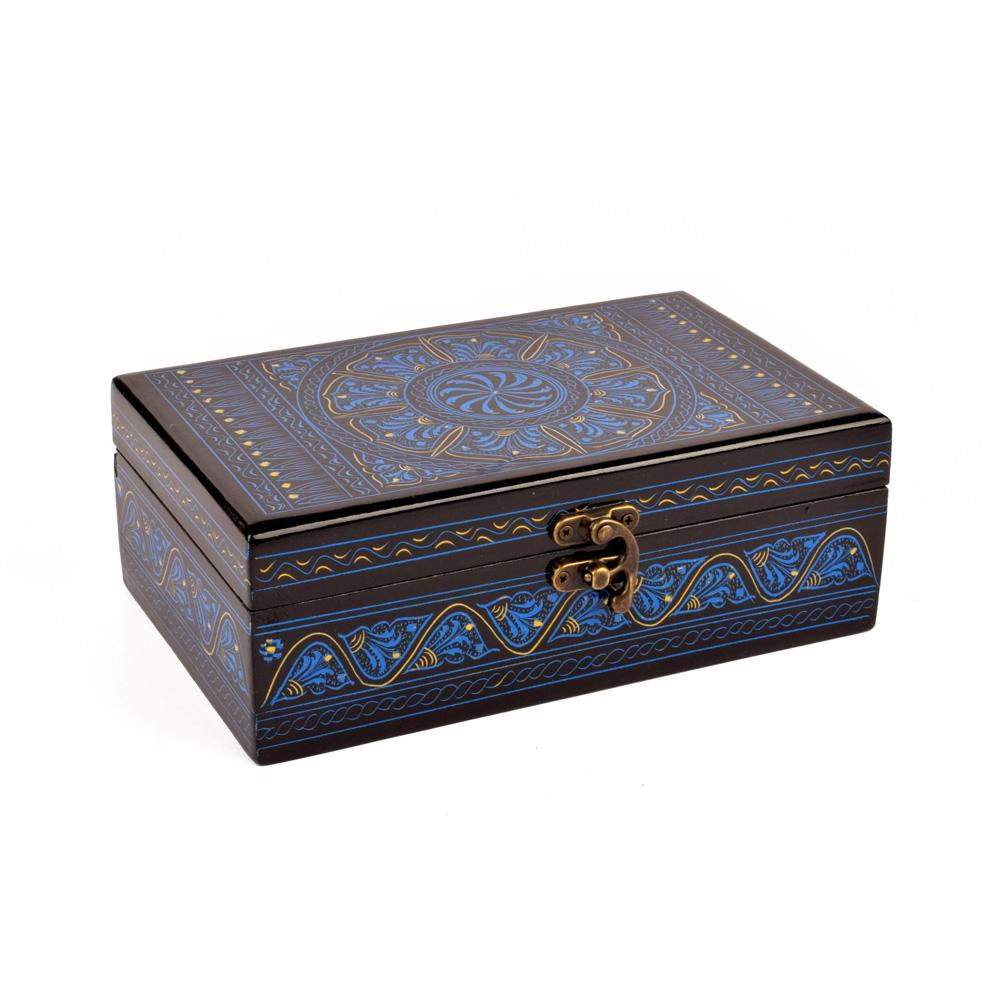 Samobor Designs One Piece Jewelry Box Jewellery SAK Blue