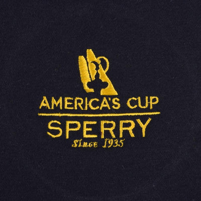 Polo Republica America's Cup Sperry 1/4 Zipper Neck Sweat Shirt Men's Sweat Shirt Polo Republica