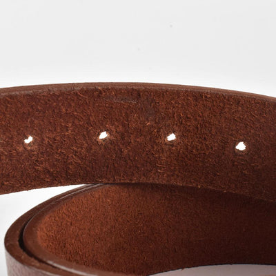 Men's Genuine Leather Elementary Style Belt Men's Belt MB Traders