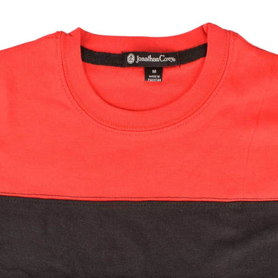 Jonathan Corey Kids Panelled Tee Shirt Boy's Tee Shirt First Choice