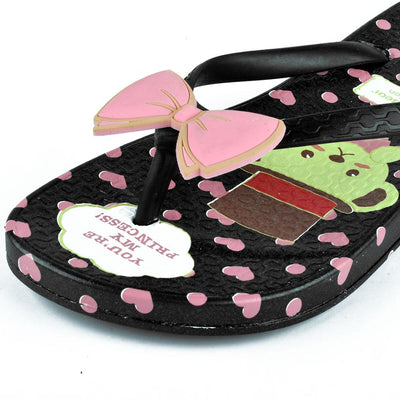 Women's Teddy Bear Collection You Are Princess Flip Flop Women's Shoes Sunshine China