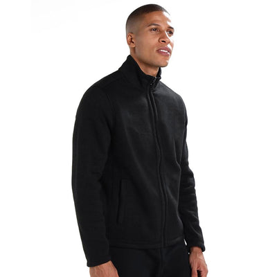 Polo Republica Classic Brushed Polar Fleece winter Jacket Men's Jacket Polo Republica Black M
