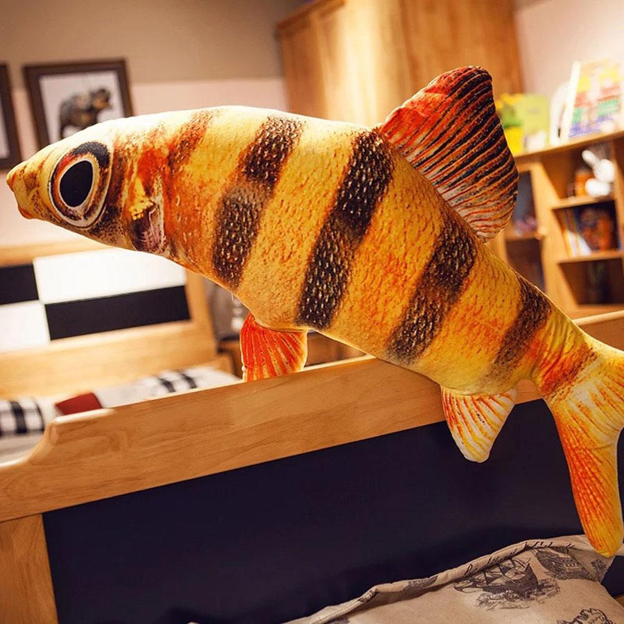Simulation Small Yellow Fish Doll Pillow