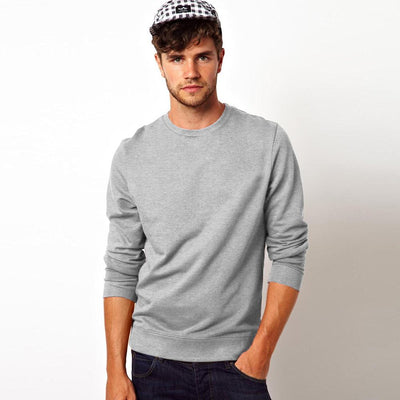 Kitrose Sweat Shirt Men's Sweat Shirt Image Heather Grey M