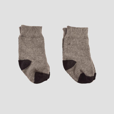 Polo Republica New Born Charming Style Pack of Two Socks Socks RKI Heather Grey New Born