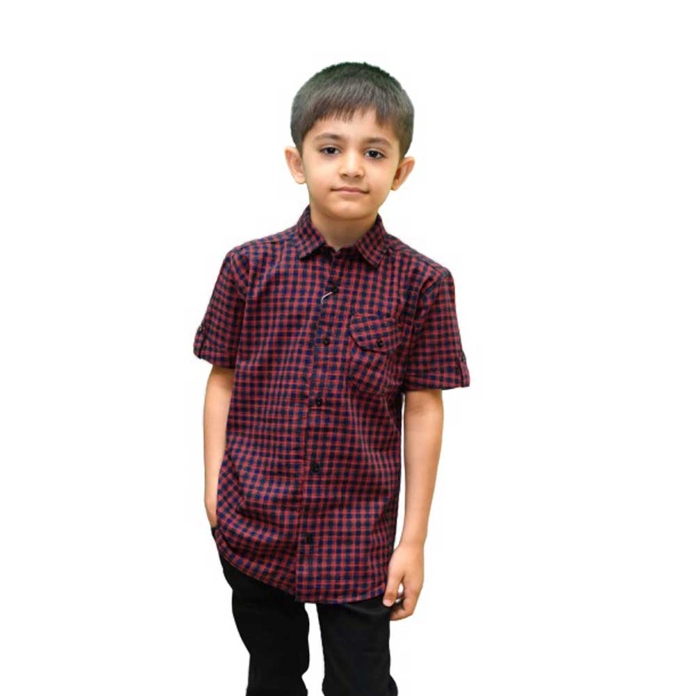 SRT Boy's Saltpond Short Sleeves Casual Shirt Kid's Casual Shirt SRT 16 (2-3 Years)