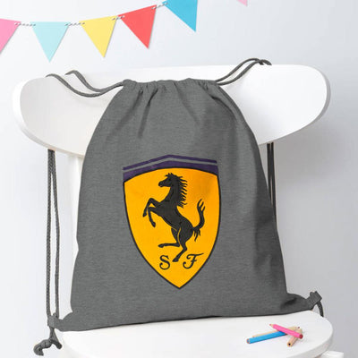 Polo Republica Amasya Drawstring Bag Drawstring Bag Polo Republica Grey Melange