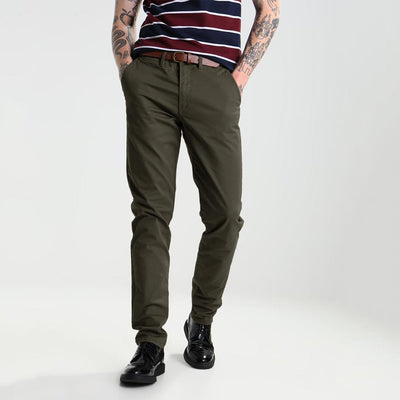 ONLF Classic Slim Fit Chino Pants Men's Chino IBC Olive 30 32