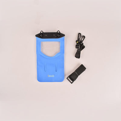 Tteoobl T-11B Durable Waterproof Mobile Pouch Electronics HDY Blue