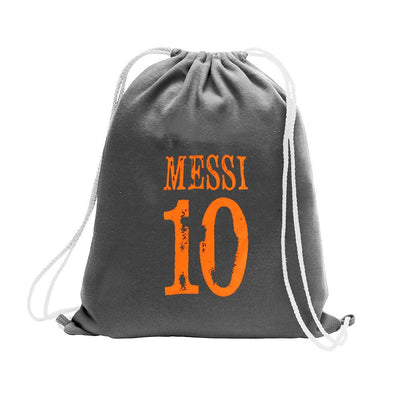 Polo Republica Messi Lovers Drawstring Bag Drawstring Bag Polo Republica Charcoal Orange