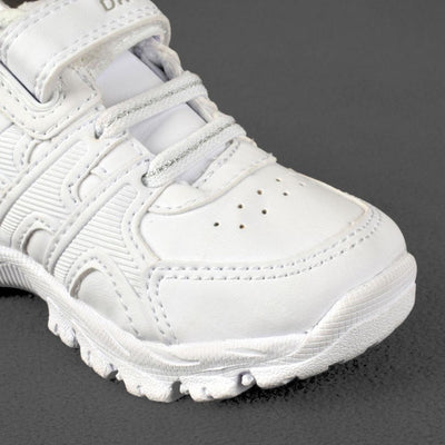 Dr. Kong Toddler White Shine Sports Shoes