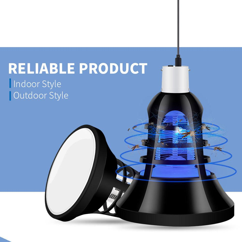 USB LED Tent Light Bug Zapper Mosquito Killer General Accessories Sunshine China Black