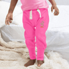 MTS Kid's Mr Jumbo Embro Sweat Pants Boy's Sweat Pants Image Pink 12-18 Months