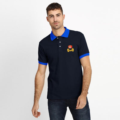 Polo Republica Redruth Rugby Polo Shirt Men's Polo Shirt Polo Republica Navy Royal S