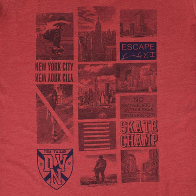 AP New York City Skate Champ Tee Shirt
