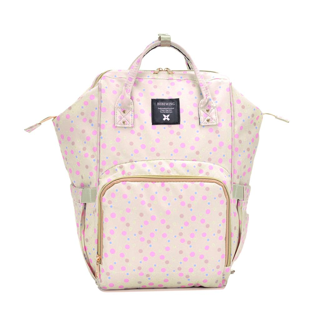 Bebewing Printed Baby Diaper Backpack Bag Women's Accessories Sunshine China Dots Print