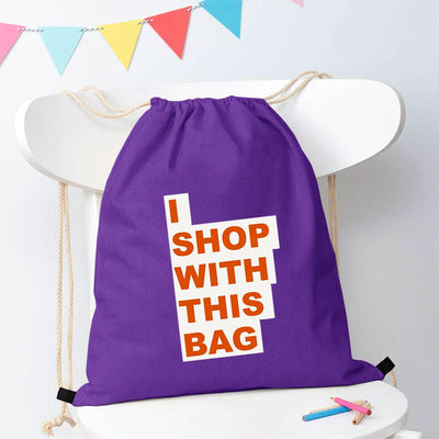 Polo Republica Shop With This Bag Drawstring Bag Drawstring Bag Polo Republica Purple