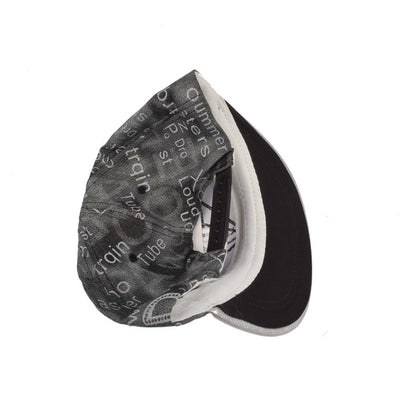 LA Diamond Contrast Color Baseball Cap Headwear MB Traders