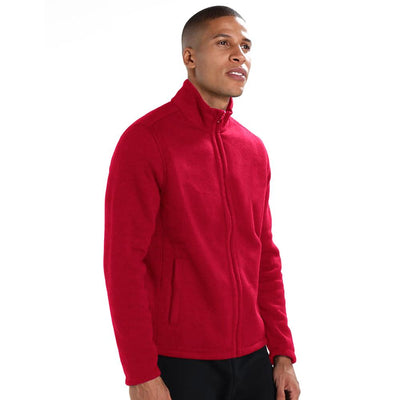 Polo Republica Classic Brushed Polar Fleece winter Jacket Men's Jacket Polo Republica Red S