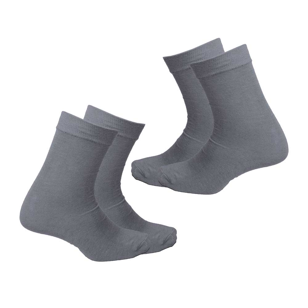 RKI Boy's Zurich Socks Pack of 2 Socks RKI Grey EUR 33-34
