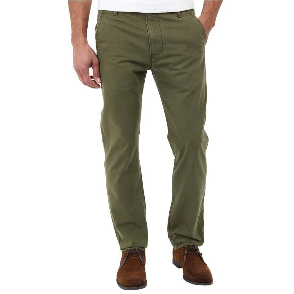 LVS Rockingham Straight Fit Chinos Men's Chino AGZ Green 38 32