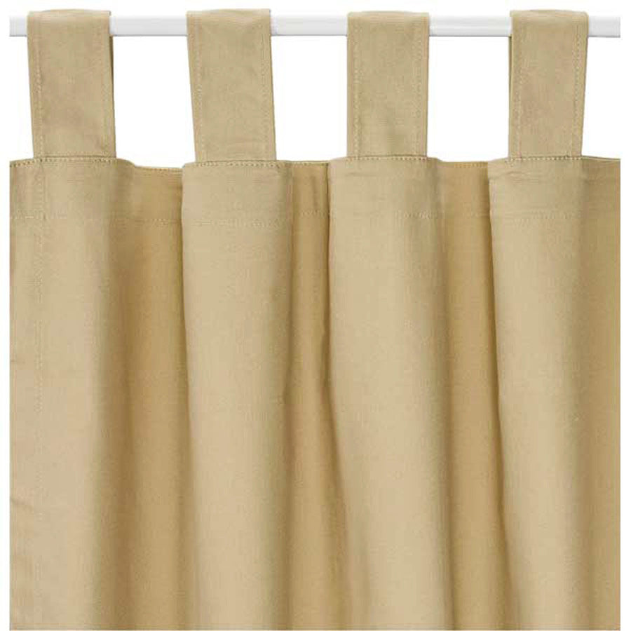 Thermalogic™ Energy Efficient Insulated Solid Tab-Top One Piece Curtains - ExportLeftovers.com