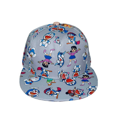 Kids Doraemon All Over Print P-Cap Headwear MB Traders