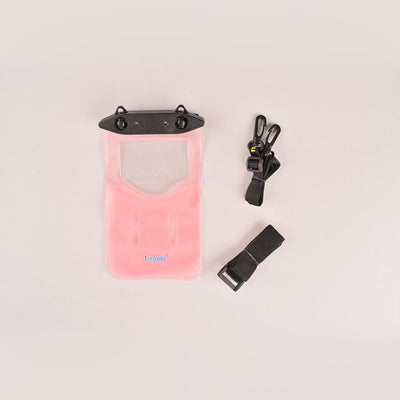 Tteoobl T-11B Durable Waterproof Mobile Pouch Electronics HDY Pink