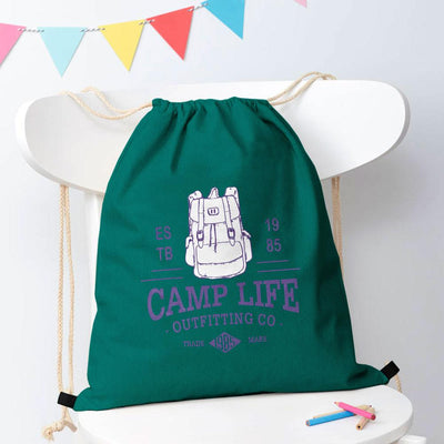 Polo Republica Camp Life Drawstring Bag Drawstring Bag Polo Republica Dark Turquoise
