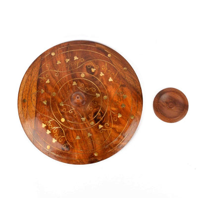 Bavaria Wooden Round Shaped Box