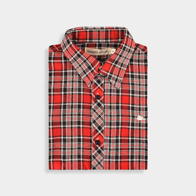 Beyond Clouds Yazıkonak Boys Casual Shirt