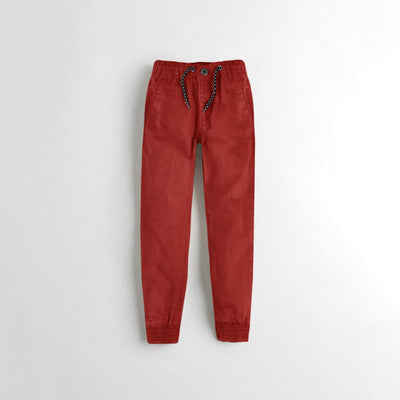 Tumble N Dry Boy's Jogger Pants Boy's Denim First Choice Red Brown 1.5-2 Years