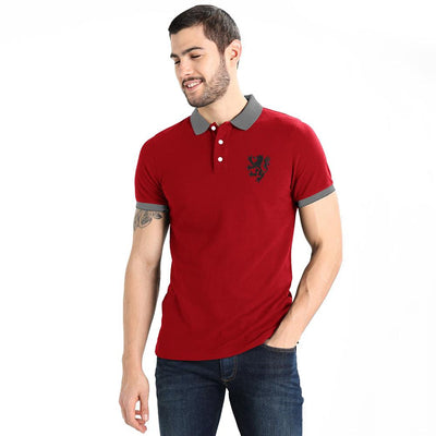 Polo Republica Leo Polo Shirt Men's Polo Shirt Polo Republica Red Graphite S