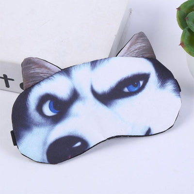 Animal Printed 3D Sleeping Mask Eyewear Sunshine China Wolf