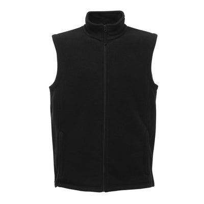 RGT Micro Fleece Men's Body Warmer Men's Gilet Image Black XS