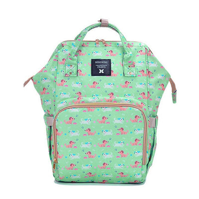 Bebewing Printed Baby Diaper Backpack Bag Women's Accessories Sunshine China Tommy Print