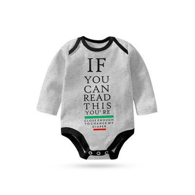 Polo Republica If You Can Long Sleeve Baby Romper