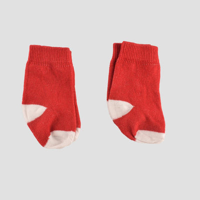 Polo Republica New Born Charming Style Pack of Two Socks Socks RKI Red New Born