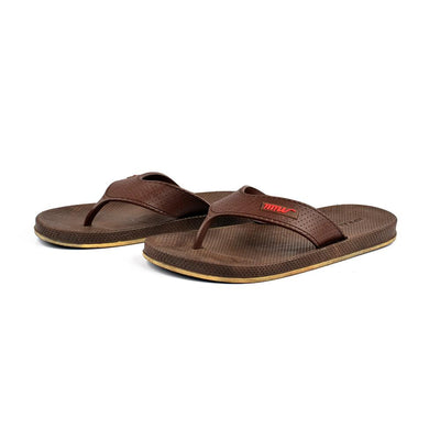 Hpral Men's Milli Balcarce Flip Flop Men's Shoes Hpral Brown EUR 40