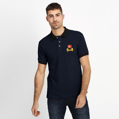 Polo Republica Redruth Rugby Polo Shirt Men's Polo Shirt Polo Republica Navy Black S