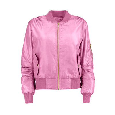 Women's Rising Wenling Puffer Bomber Jacket Women's Jacket Fiza Baby Pink XS